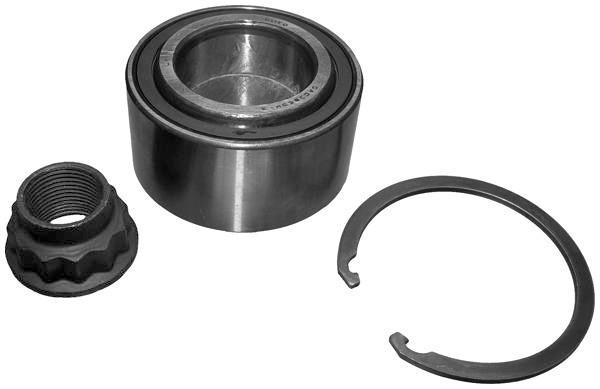 For Peugeot 107 2005-2014 Rear Hub Wheel Bearing Kits Pair