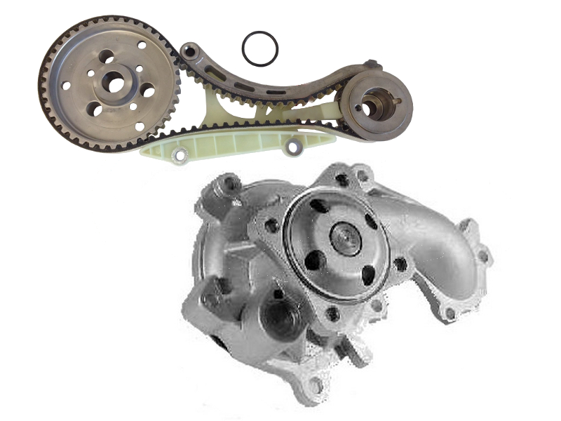Water Pump And Timing Belt Kit Replace Ford Transit Connect 18 Tdci Di: Ford 1 8 Tdci Engine Diagram At Johnprice.co