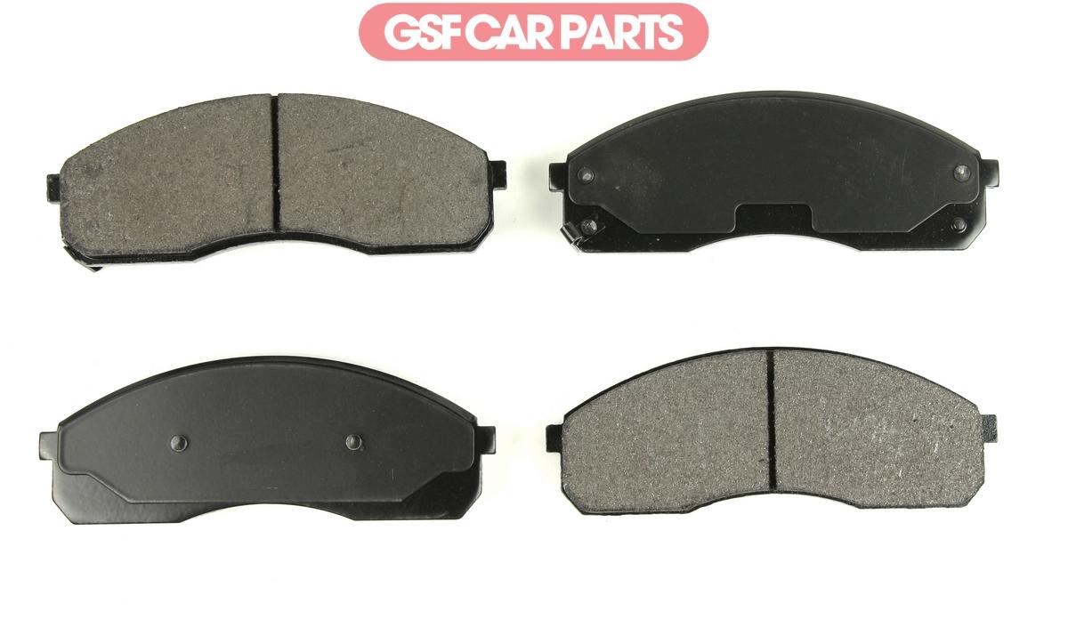 Brake Pads Set fits KIA SEDONA Mk2 2.9D Rear 2006 on J3 B/&B Quality Replacement