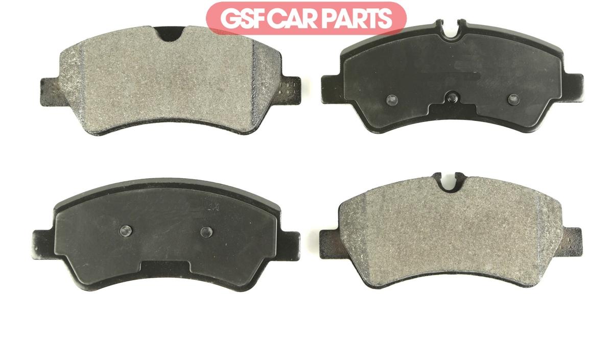 OEM Rear Brake Pad Set Replace Braking Kit For Ford Transit Custom 12-15 2.2Tdci
