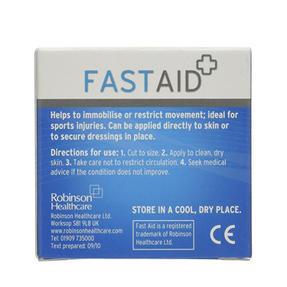 Robinson Healthcare 4483 Fast Aid Zinc Oxide Non-Stretch Tape, 2.5 cm x 5 cm Thumbnail 2
