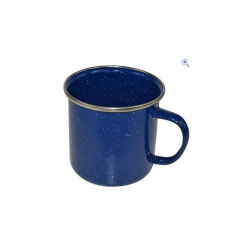 Boyz Toys RY380 Enamel Outdoor Camping Mug, Blue