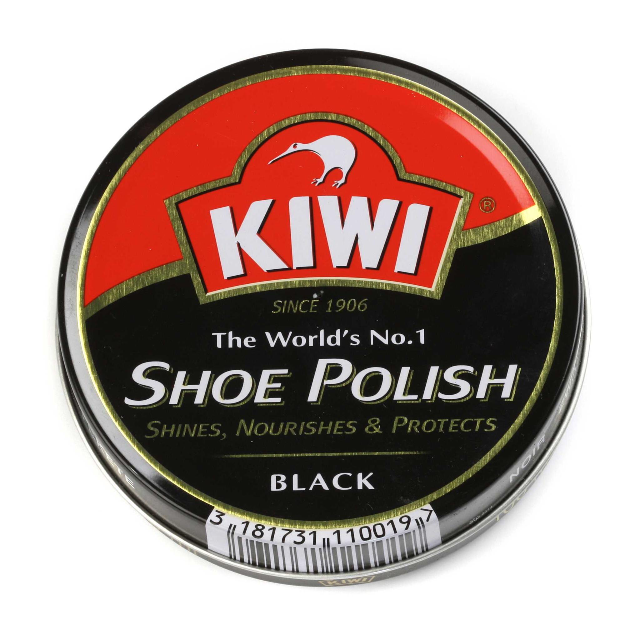 Kiwi Shoe Polish Black Ml