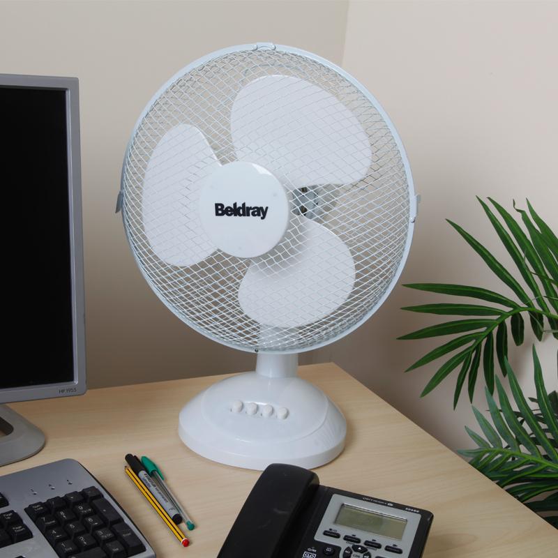 Beldray 12 Inch Desk Fan White Beldray