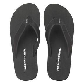 Trespass 716068 Indy Flip Flops, Size 7, Black