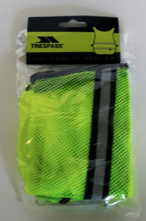High Visibility Mesh Bib by Trespass