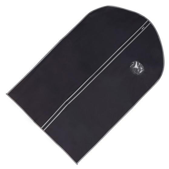 H & L Russel CAB1318 Soft Touch Suit Cover Bag, Navy Blue