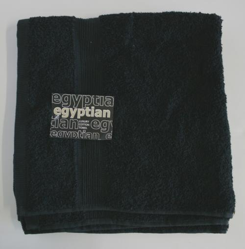 Egyptian 062147 Black Luxury Cotton Bath Towel