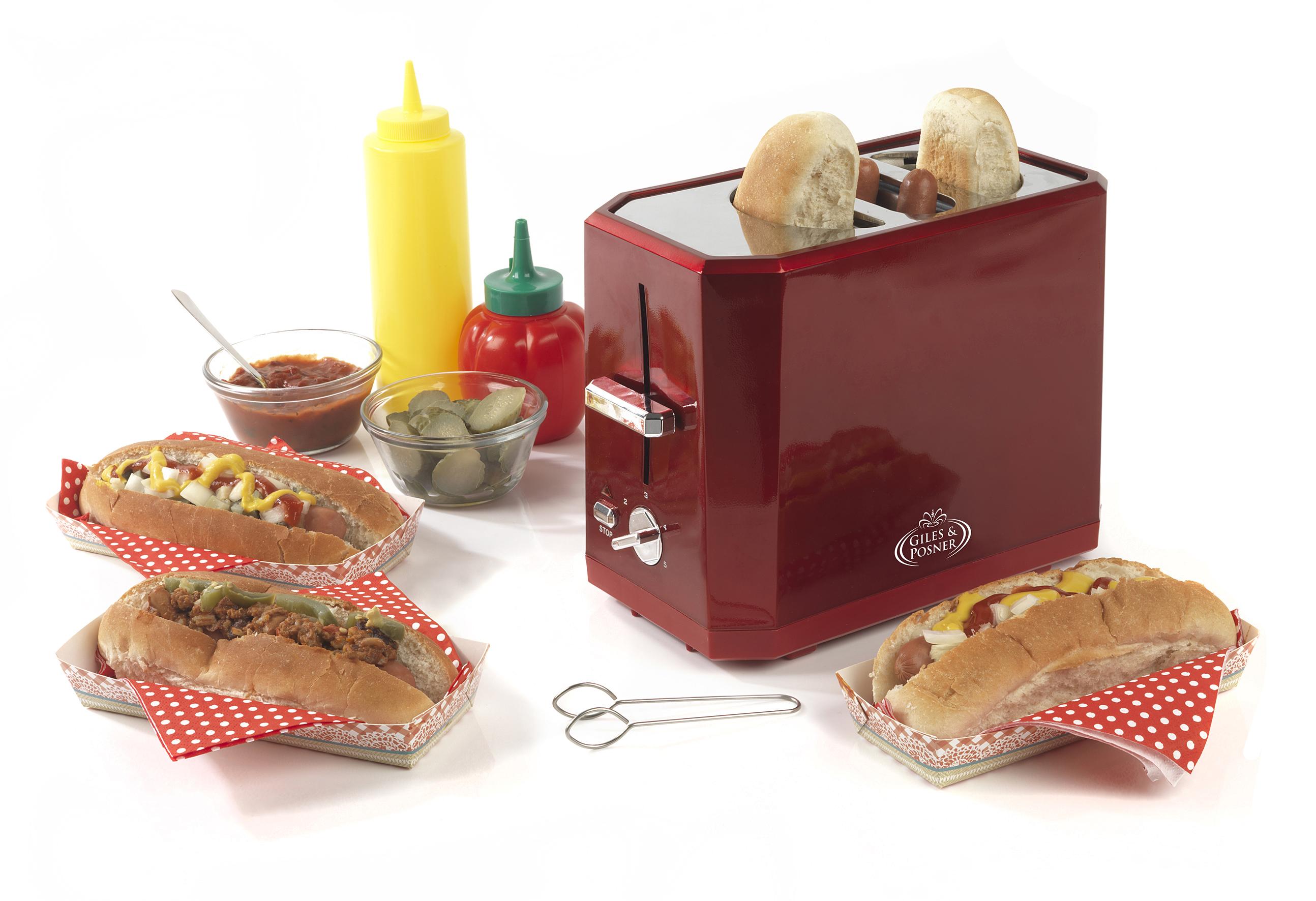 giles posner hot dog maker party products giles posner. Black Bedroom Furniture Sets. Home Design Ideas