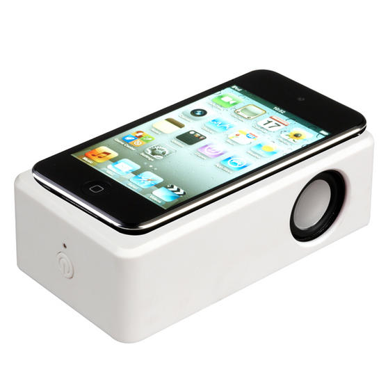 Intempo Mini Voodoo Speaker White