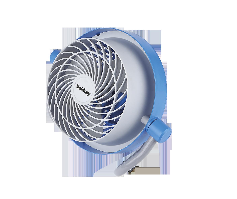 Beldray Blue Mini Industrial Fan Beldray