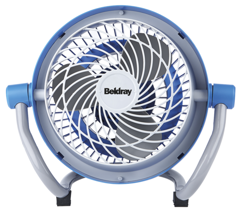 Beldray Blue Mini Industrial Fan