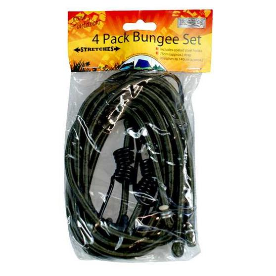 4 Pack Bungee Set