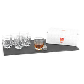 RCR Italian Manufactured Diamante Set of 6 Tumblers 33cl Thumbnail 3