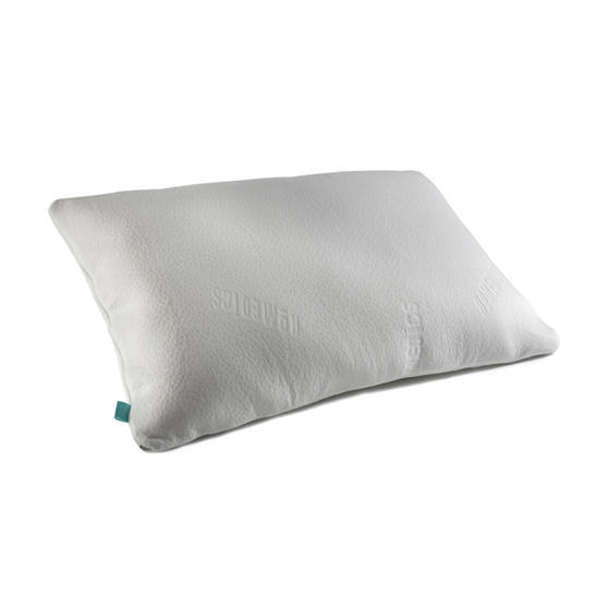 HoMedics MFHAB88435UP Antibacterial Memory Foam Pillow, White