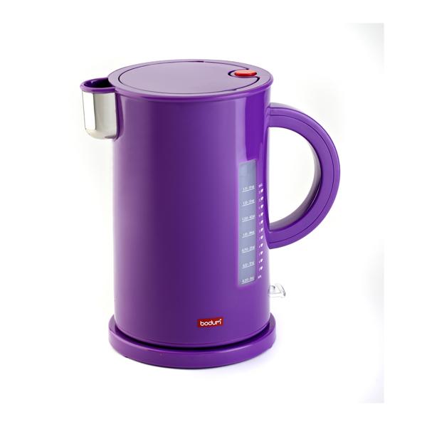 Bodum 1 7l Ettore Electric Cordless Water Kettle Purple