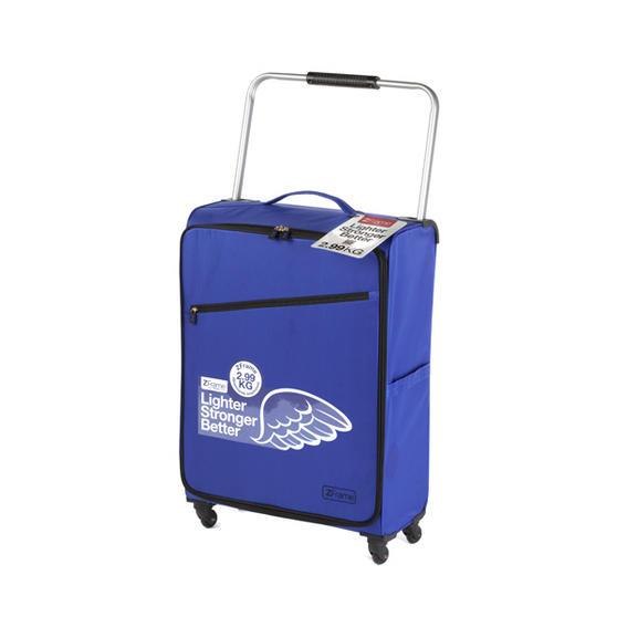 """ZFrame Super Lightweight Suitcase, 26"""", 10 Year Warranty, Cobalt Blue"""