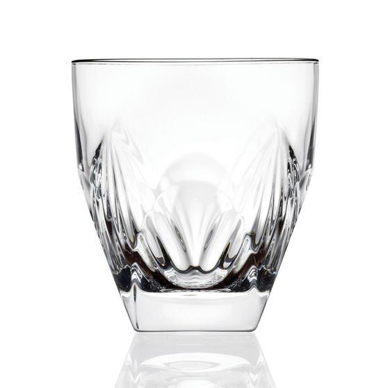 RCR Italian Manufactured Fior Di Loto Set Of 6 Whisky Glasses