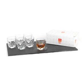 RCR Italian Manufactured Fior Di Loto Set Of 6 Whisky Glasses Thumbnail 2