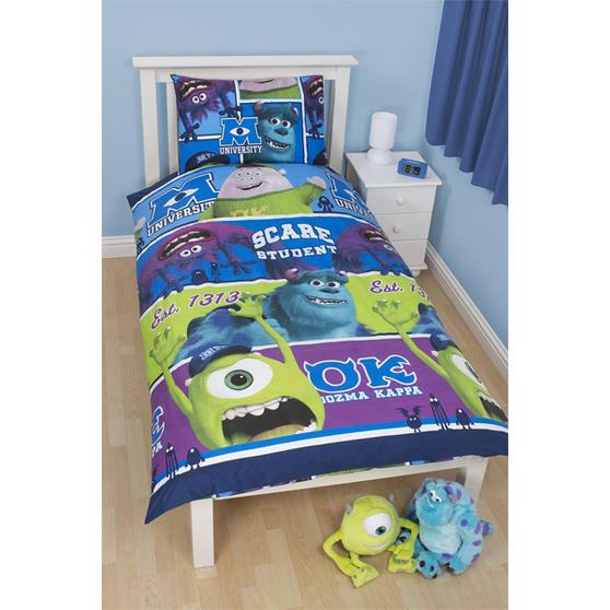 Disney Monsters Inc University Bedroom Set 3 | Disney ...
