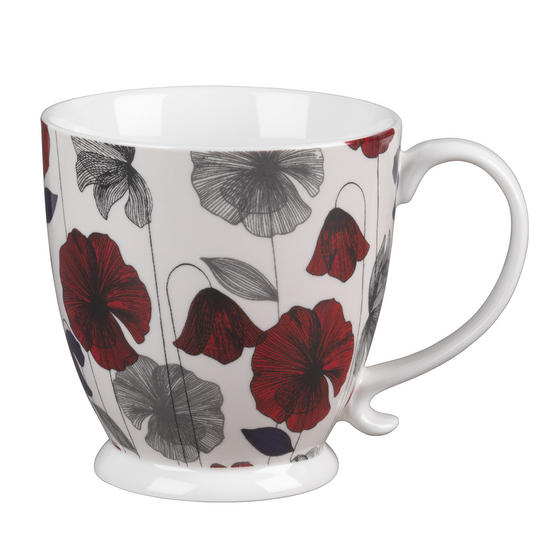 Cambridge CM03622 Kensington Fraya Red Fine China Mug