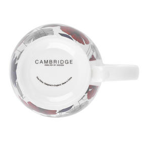 Cambridge CM03622 Kensington Fraya Red Fine China Mug Thumbnail 2