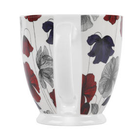 Cambridge CM03622 Kensington Fraya Red Fine China Mug Thumbnail 3