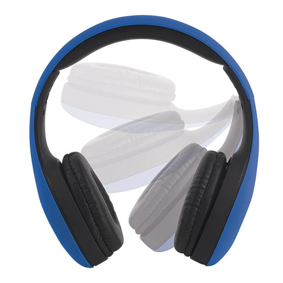 Intempo EE0999BLU Blue Foldable Over-Ear Headphones