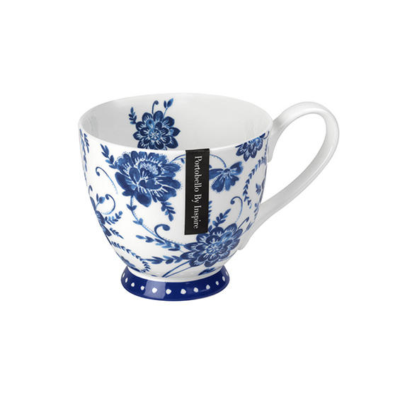 Portobello CM03399 Footed Jiao Fine Bone China Mug
