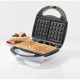Salter EK1651 3-in-1 Snack Maker with Sandwich/Waffle and Doughnut Plates Thumbnail 3