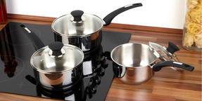 Salter Stainless Steel Elegance 3 Piece Pan Set Thumbnail 3