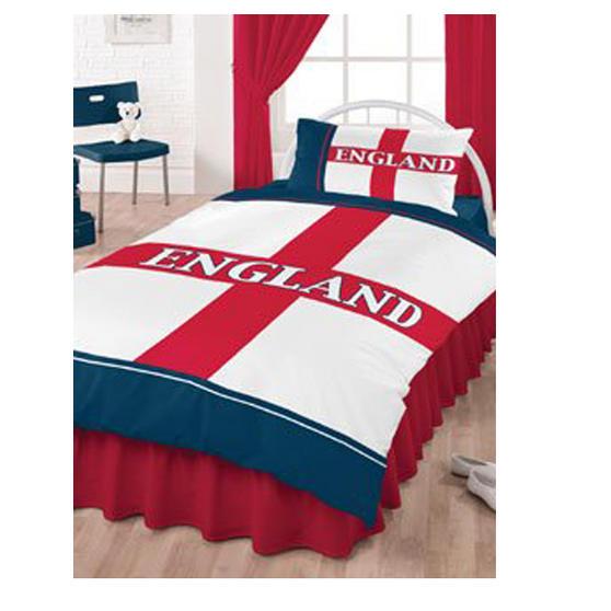 England Duvet Cover and Pillowcase Kids Bedding