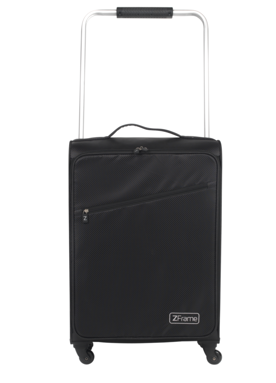 "22"" Black ZFrame Super Lightweight Suitcase"