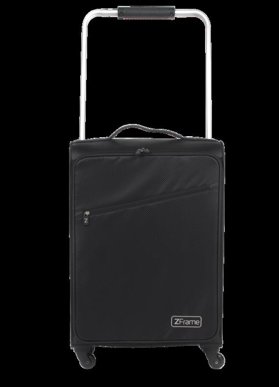 """ZFrame Super Lightweight Suitcase, 22"""", Black"""