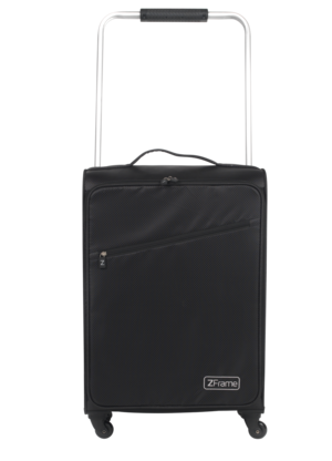 "ZFrame Super Lightweight Suitcase, 22"", Black Thumbnail 1"