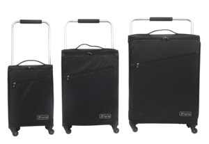 "ZFrame Super Lightweight Suitcase, 22"", Black Thumbnail 3"
