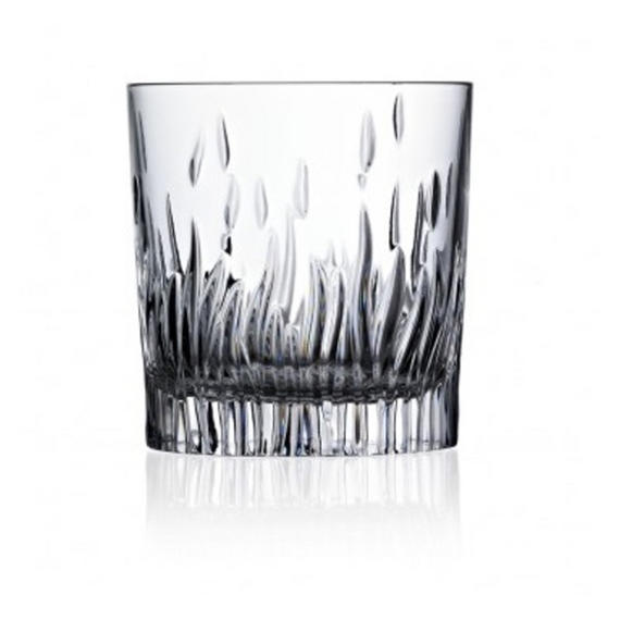 RCR 24849020006 Fire Crystal Short Whisky Water Tumblers Glasses, 240 ml, Set of 6