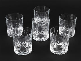 RCR 24849020006 Fire Crystal Short Whisky Water Tumblers Glasses, 240 ml, Set of 6 Thumbnail 3