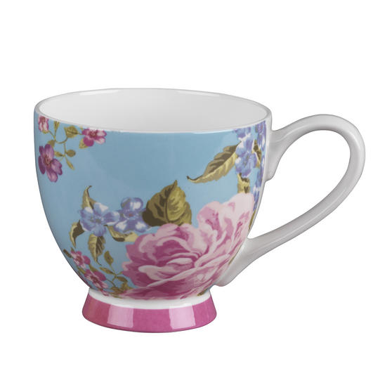 Portobello CM03931 Footed Claremont Fine Bone China Mug