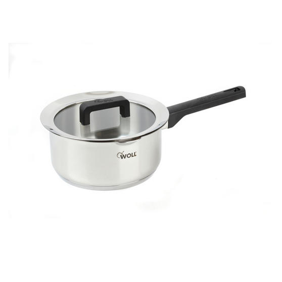 Woll 20cm Stainless Steel Sauce Pan With Glass Lid