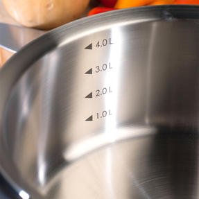 Woll 24cm Stainless Steel Casserole Dish With Glass Lid Thumbnail 8