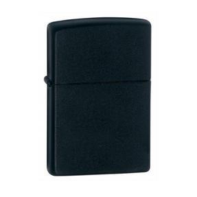 Zippo CAB1315 Lighter in Black Presentation Box, Black Matte