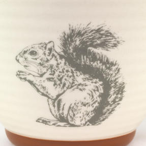 Portobello Stafford Wildlife Squirrel Stoneware Mug Thumbnail 2