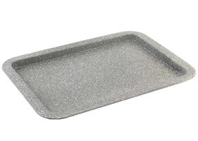 Salter BW02775G Marble Collection Carbon Steel Baking Pan, 38 cm, Grey