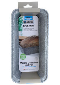 Salter BW02776G Marble Collection Carbon Steel Loaf Baking Pan, 27 cm, Grey Thumbnail 2