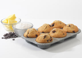 Salter BW02778G Marble Collection Carbon Steel 6 Cup Muffin Baking Pan, 27 cm, G Thumbnail 4