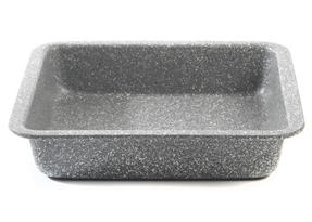 Salter BW02780G Marble Collection Carbon Steel Square Baking Pan, 23 cm, Grey Thumbnail 2