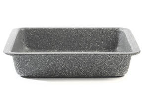 Salter BW02780G Marble Collection Carbon Steel Square Baking Pan, 23 cm, Grey Thumbnail 3