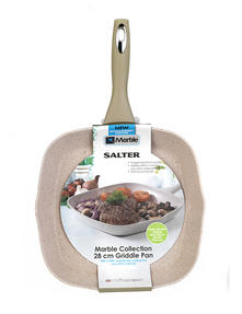 Salter Everest Forged Sand Marblestone 28cm Grill Pan Thumbnail 2