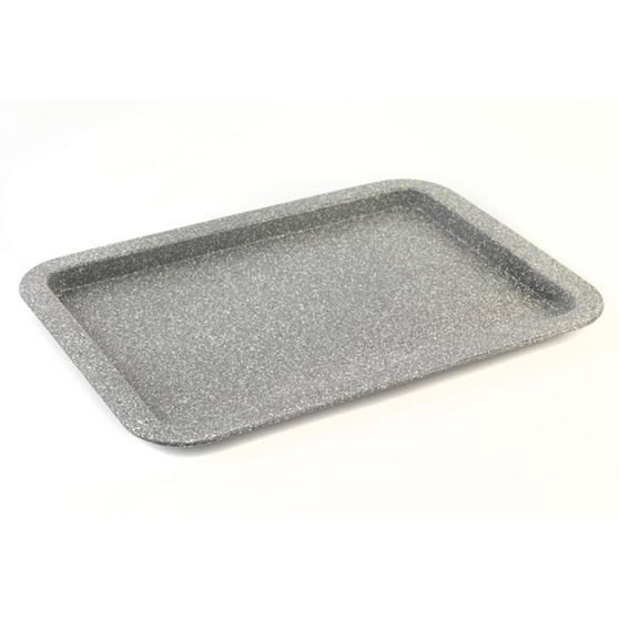 Salter Everest 23cm & 38cm Grey Marble Coated Baking Tray